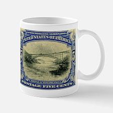 NY Niagara Falls stamp Mug