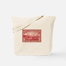 US Hudson Fulton stamp Tote Bag