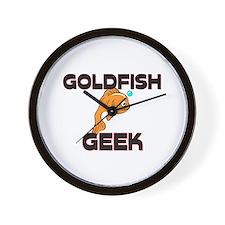 Goldfish Geek Wall Clock