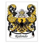 Redondo Family Crest Small Poster