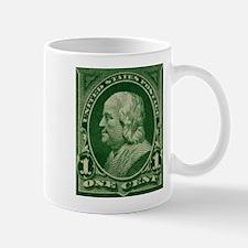 US stamp Benjamin Franklin Mug