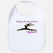 Quote for Dancers Bib