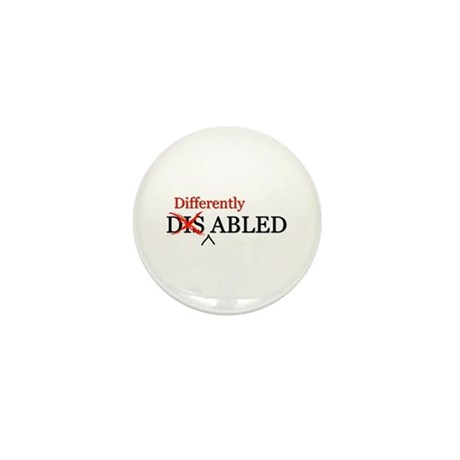 Differently Abled Mini Button