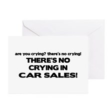 There's No Cyring in Car Sales Greeting Cards (Pk