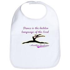 Dance Quote Gift Items Bib