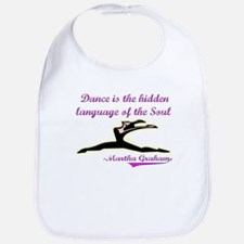 Dance Quote Gift Items Bib