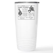 Antique ad: Rabbit Fuzzees Travel Mug