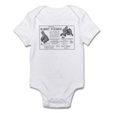 Antique ad: Rabbit Fuzzees Infant Bodysuit