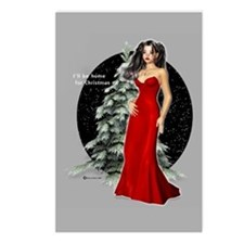I'll Be Home For Christmas Postcards (Package of 8