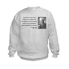 Bertrand Russell 10 Sweatshirt