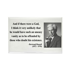 Bertrand Russell 10 Rectangle Magnet (10 pack)