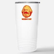 Marxism is Lazy Travel Mug