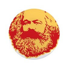 """Marxism is Lazy 3.5"""" Button"""