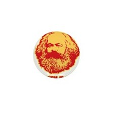 Marxism is Lazy Mini Button (10 pack)