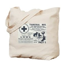 Transvaal war wounded Tote Bag