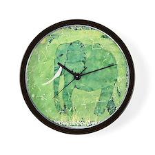 Elephant 1. Wall Clock