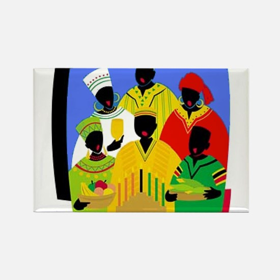 Funny Kwanzaa Rectangle Magnet