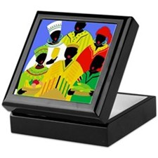 Unique African american holidays Keepsake Box