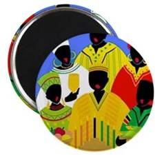 """Funny Kwanzaa 2.25"""" Magnet (10 pack)"""