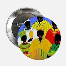 """Cute Kwanzaa 2.25"""" Button"""