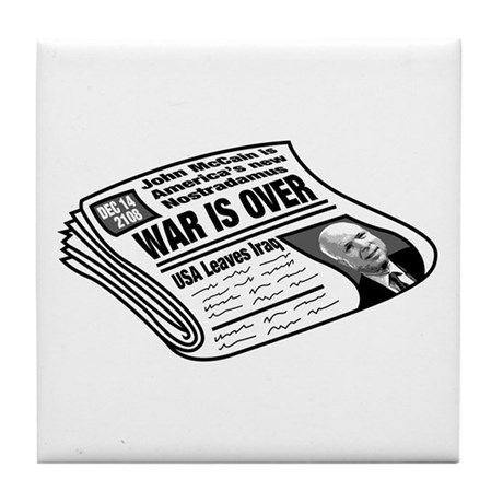 McCain Predicts Future Tile Coaster