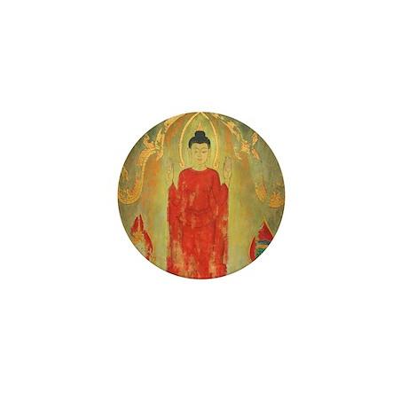 Thai Buddhist Art Gift Mini Button (10 pack)