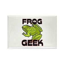 Frog Geek Rectangle Magnet
