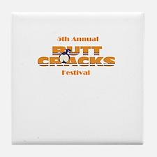 Red Neck Comedy Tile Coaster