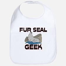 Fur Seal Geek Bib