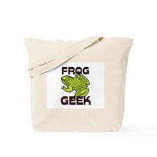 Frog Geek Tote Bag