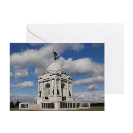 Pennsylvania State Memorial Greeting Cards (Pk of