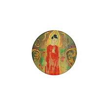 Thai Buddhist Art Gift Mini Button