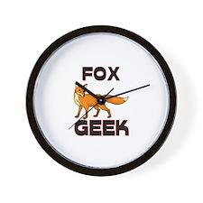 Frog Geek Wall Clock