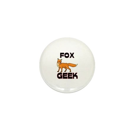 Fox Geek Mini Button (10 pack)