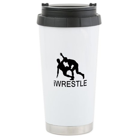 iWrestle Stainless Steel Travel Mug