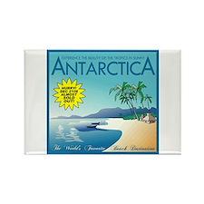 Visit Tropical Antarctica Rectangle Magnet
