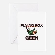 Flying Fox Geek Greeting Cards (Pk of 10)