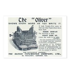 Oliver typewriter Postcards (Package of 8)