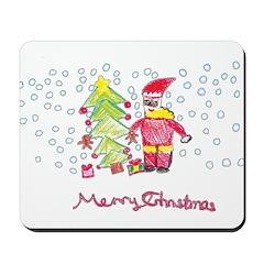 Tessa's Christmas Mousepad