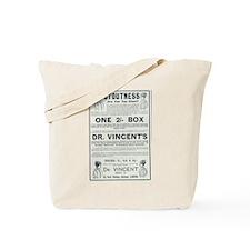 Dr Vincent's Stoutness Tote Bag
