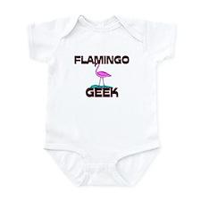 Flamingo Geek Infant Bodysuit