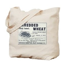 Shredded Wheat Tote Bag