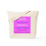 Breast Cancer Walk Tote Bag