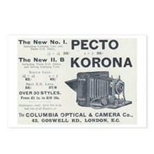 Pecto Korona Postcards (Package of 8)