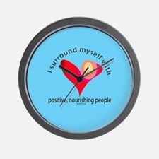 Positive People Wall Clock