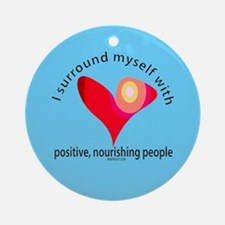 Positive People Ornament (Round)