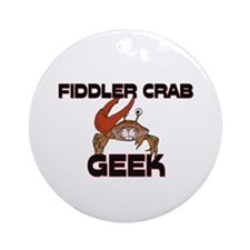 Fire Ant Geek Ornament (Round)