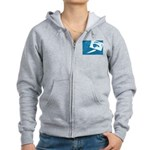 Chain Eye Women's Zip Hoodie