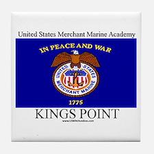 USMM Flag Tile Coaster