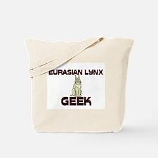 Eurasian Lynx Geek Tote Bag